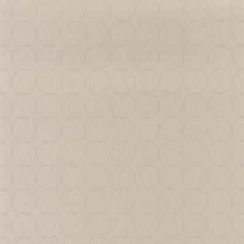 Tapete Kreise beige Casadeco - Vision 36-VISI83681414