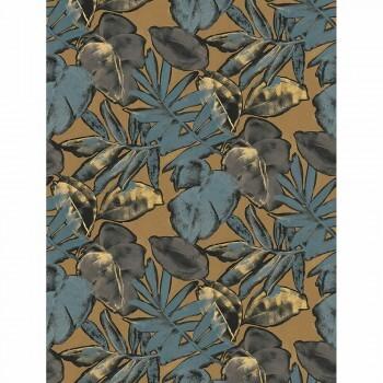 Casadeco - Natura 36-NTRA83926362 ecodeco Wandbild Blätter blau beige
