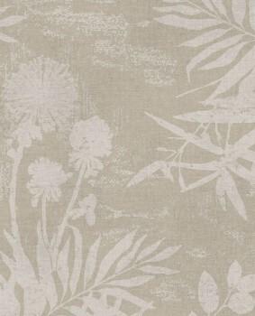 55-379033 Eijffinger Lino beige Blumenmuster Vliestapete