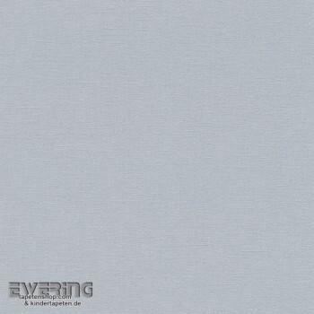 7-448597 Florentine Rasch Vlies-tapeten Leinenstruktur blau-grau