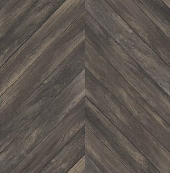 23-024008 Rasch Textil Restored dunkelbraun Holz Tapete V-Muster