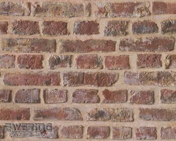 8-30219-1, 302191 Authentic Walls AS Creation hellbraun Steinmauer Papier
