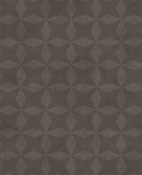 Eijffinger Lino 55-379022 grafisches Muster Vliestapete braun