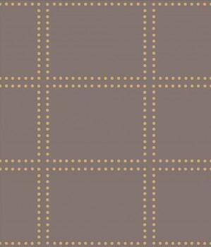 Rasch Textil 23-022646 Gravity Vliestapete erdbraun kariert Punkte