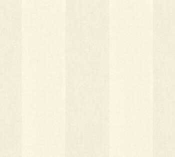 AS Creation Castello 33581-1, 335811 creme Streifen Velour Tapete