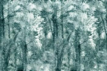Dunkel-Grün Bäume Wald Wandbild 62-ODED191809 Tenue de Ville ODE