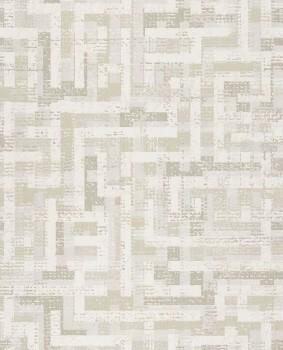 55-376010 Eijffinger Siroc Tapete Vlies beige Muster glänzend