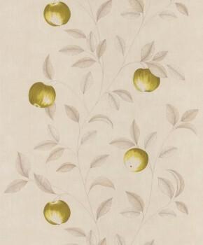 Vlies Tapete Caselio - Bon Appetit 36-BAP68407007 grün Apfel Küche