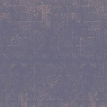 Vliestapete 36-UTA29595130 Casadeco – Utah pflaumen-blau Fossil kupfer
