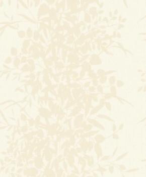 37-NG2002 Grandeco Nordic Elegance Vliestapete Ranken creme glänzend