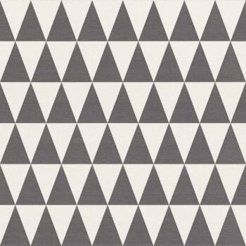 Boho Chic Rasch Textil 23-148672 Vliestapete Dreiecke anthrazit