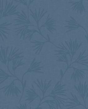 55-386552 Eijffinger Enso Blumenmuster Vliestapete blau