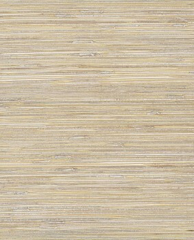 55-389525 Eijffinger Natural Wallcoverings II Basttapete gold beige