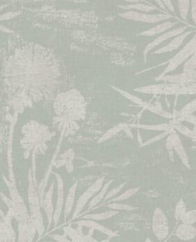 Eijffinger Lino 55-379032 Vliestapete Blumenmuster Mintgrün