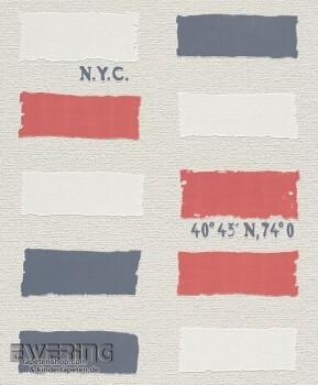 Rasch Home Vision 6 7-426915 Farb-Flächen hell-beige Vliestapete