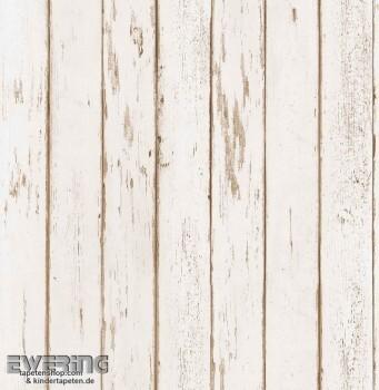 Strictly Stripes 23-362267 Vinyltapete hell-beige Holzoptik