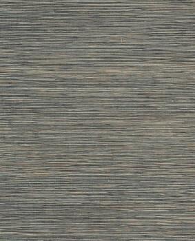 Eijffinger Natural Wallcoverings II 55-389542 petrol sand Basttapete