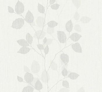 8-34761-1, 347611 Vliestapete Happy Spring AS Creation hell-grau Ranken