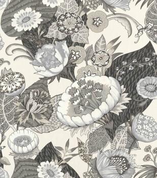 Rasch Lucy in the Sky 7-803617 Vliestapete grau Blüten