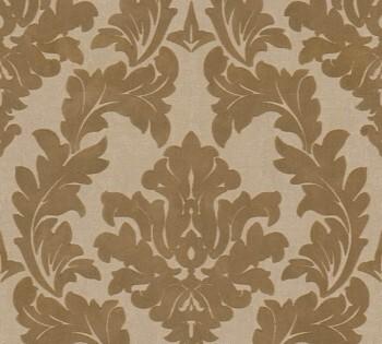 33580-2, 335802 Velourtapete Castello AS Creation Ornamente gold groß