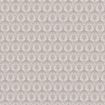 Tapete grafische Muscheln grau 48-74000198 Casamance - Portfolio
