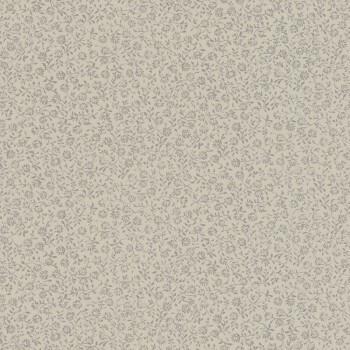 7-802238 Ylvie Rasch mittel-grau Wohnzimmer Blümchen Tapete Vlies