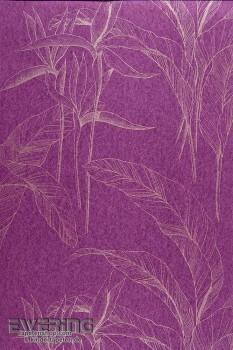 Casadeco Infinity 36-INF24845108 violett Vliestapete Blätter