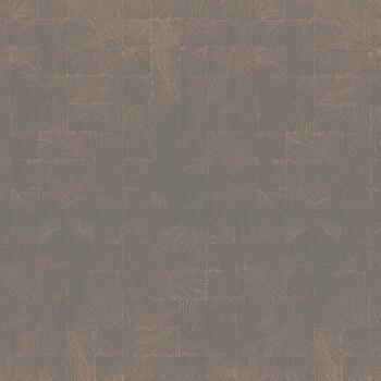 Casadeco - Utah Vlies-Tapete 36-UTA29591519 Fossil kupfer grau
