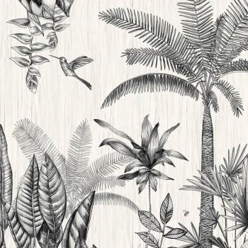 Wandbild Tropisch creme Casamance - Rio Madeira 48-74290180
