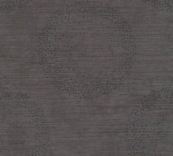 8-36005-2, 360052 Vliestapete Titanium 2 AS Creation Kreise grau-braun