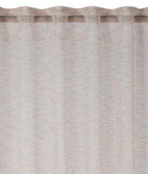 Rasch home Fertigdeko Schlaufenband 45-199265 beige halbtransparent