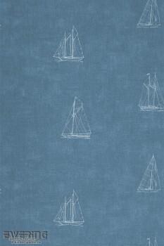 36-MRN25046141 Casadeco - Marina Texdecor Boote Marine-Blau
