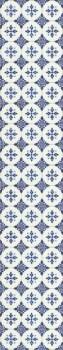 Caselio - Bon Appetit 36-BAP68516006 Wandbild dunkel-blau Fliesen