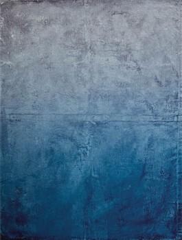Eijffinger Lino 55-379105 Wandbild blau Betonstruktur Optik