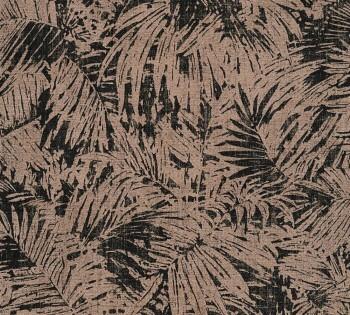 AS Creation Borneo 8-322631_L, 32263-1 Vliestapete schwarz Wohnzimmer