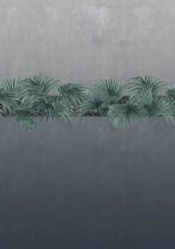 Pflanzen Blau-Grau Wandbild Tenue de Ville ODE 62-ODED190713