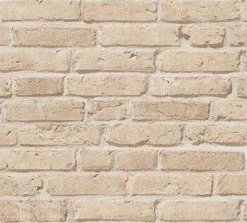 Vliestapete AS Creation Best of Wood'n Stone 35581-2 sand Steinmauer