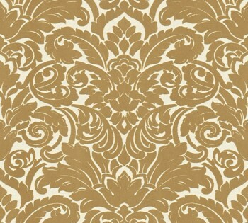 AS Creation Castello 33583-2, 335832 Verzierung Ornamente gold Velour Tapete