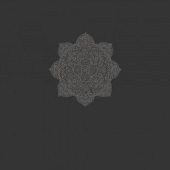 Eijffinger Lounge 55-388901 Wandbild Mandala schwarz Vliestapete