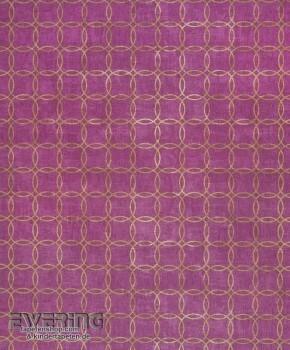 36-MAJ26395104 Casadeco - Majestic Texdecor Kreise violette Vlies