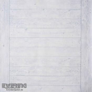 Tapeten Caselio - Metaphore 36-MTE65576060 Holzlatten hell-blau