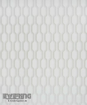 Texdecor Casadeco - Midnight 3 36-MDG26480141 creme-weiß Retro