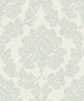 Grandeco Origine 37-OR3404 Vlies-Tapete mint-grün Ornamente