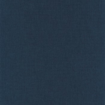 Tapete Kobaltblau Uni Caselio - Linen II 36-LINN68526640