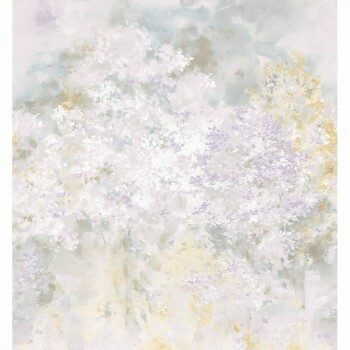 Lila Blumen Paneel