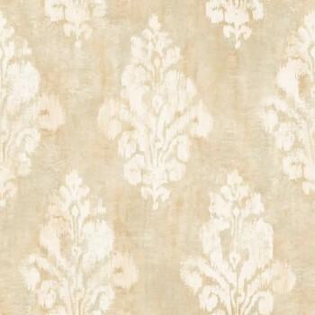 37-OR2007 Grandeco Origine creme-beige Vliestapete Ornamente