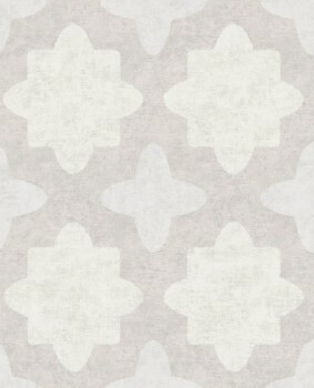 55-388741 Vliestapete Eijffinger Lounge hellgrau grafisches Muster