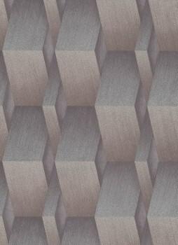 Tapete braun-bronze 3D-Optik 33-1004630 Fashion for Walls