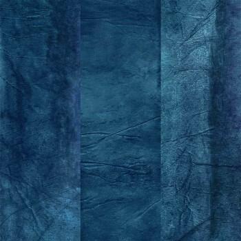 Wandpaneel blau Abstrakt Casamance - Estampe 48-74120232