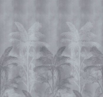 Wandbild Palmen Blau Glanz 62-SAUD211017 Tenue de Ville SAUDADE